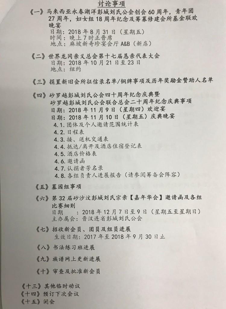 第六次理事议程--1